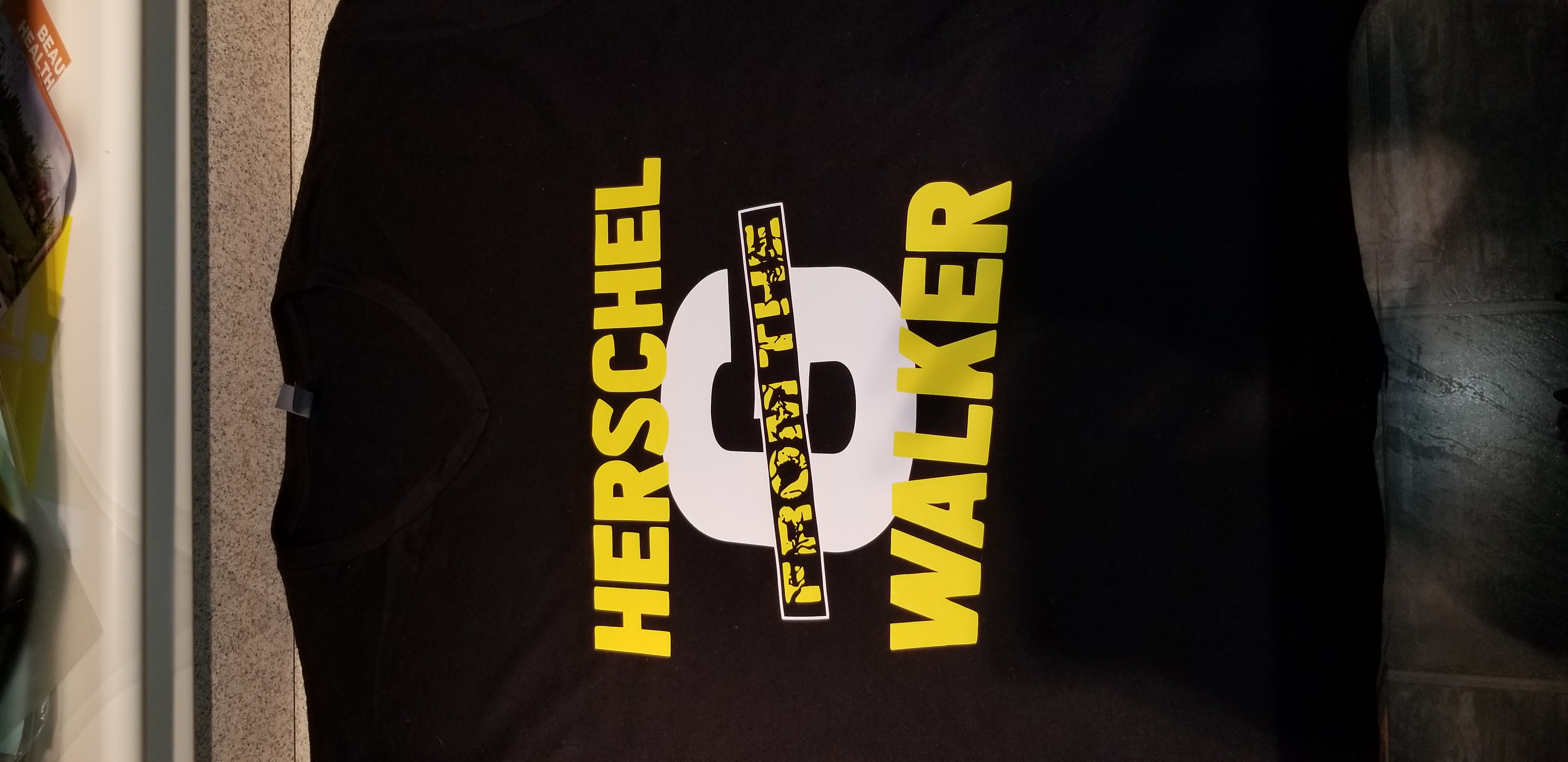 Herschel Walker From the G Shirt (Front}