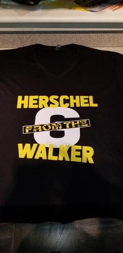 Herschel Walker From the G Shirt (Front}