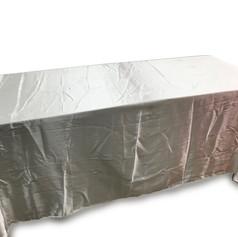 Shiny Silver Table
