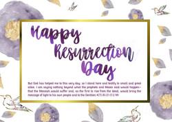 Easter Postcard (Front)