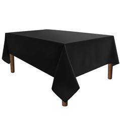 Black, Rectangular Tablecover