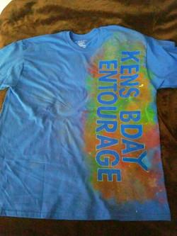 Galaxy Birthday Shirt Bundle (Front)