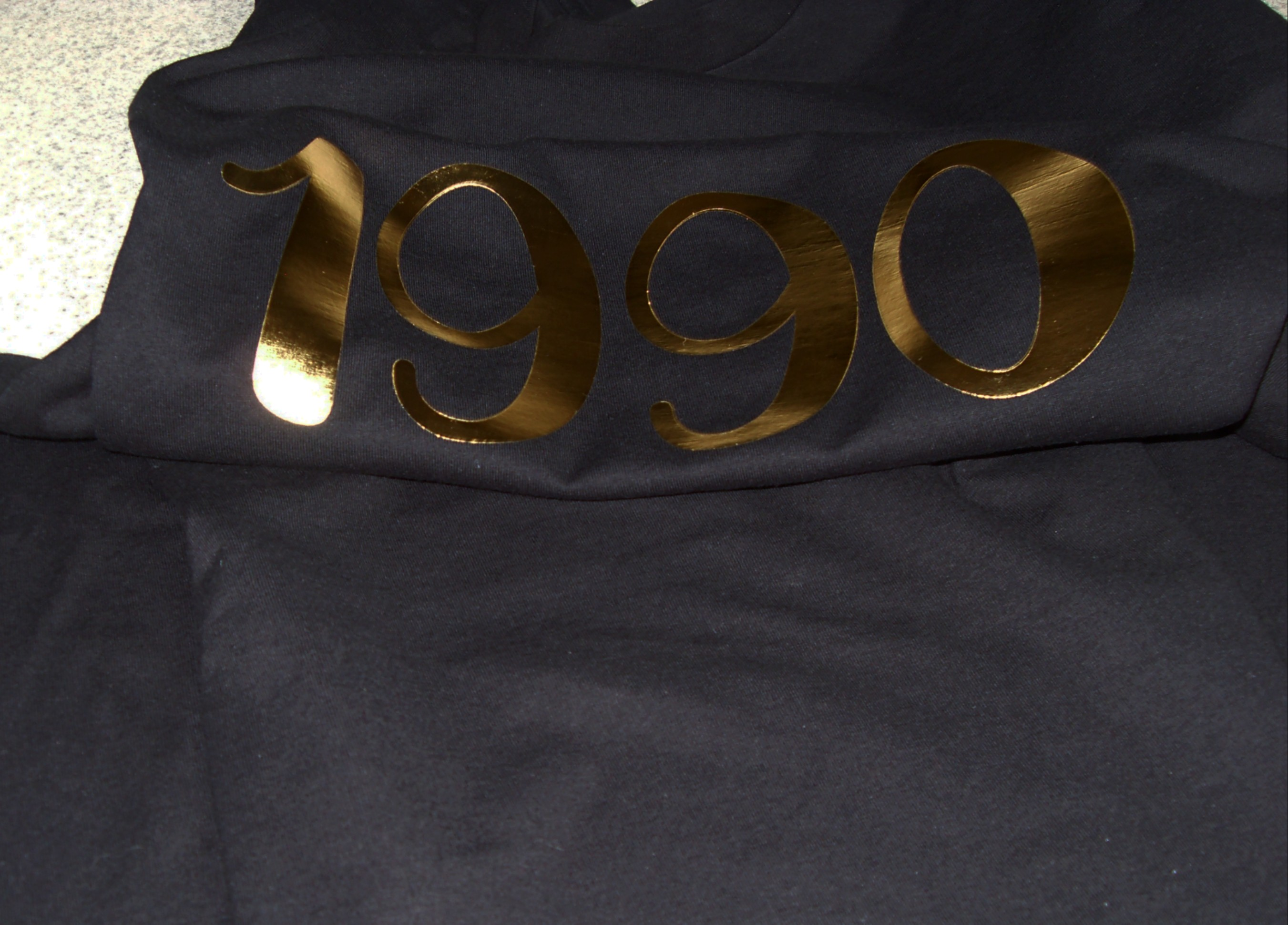 Metallic Gold 1990 Shirt