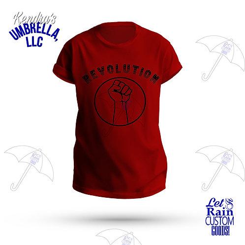 Revolution Black Power Fist T-Shirt