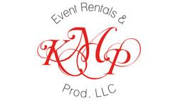 KMP Event & Productions Logo Design
