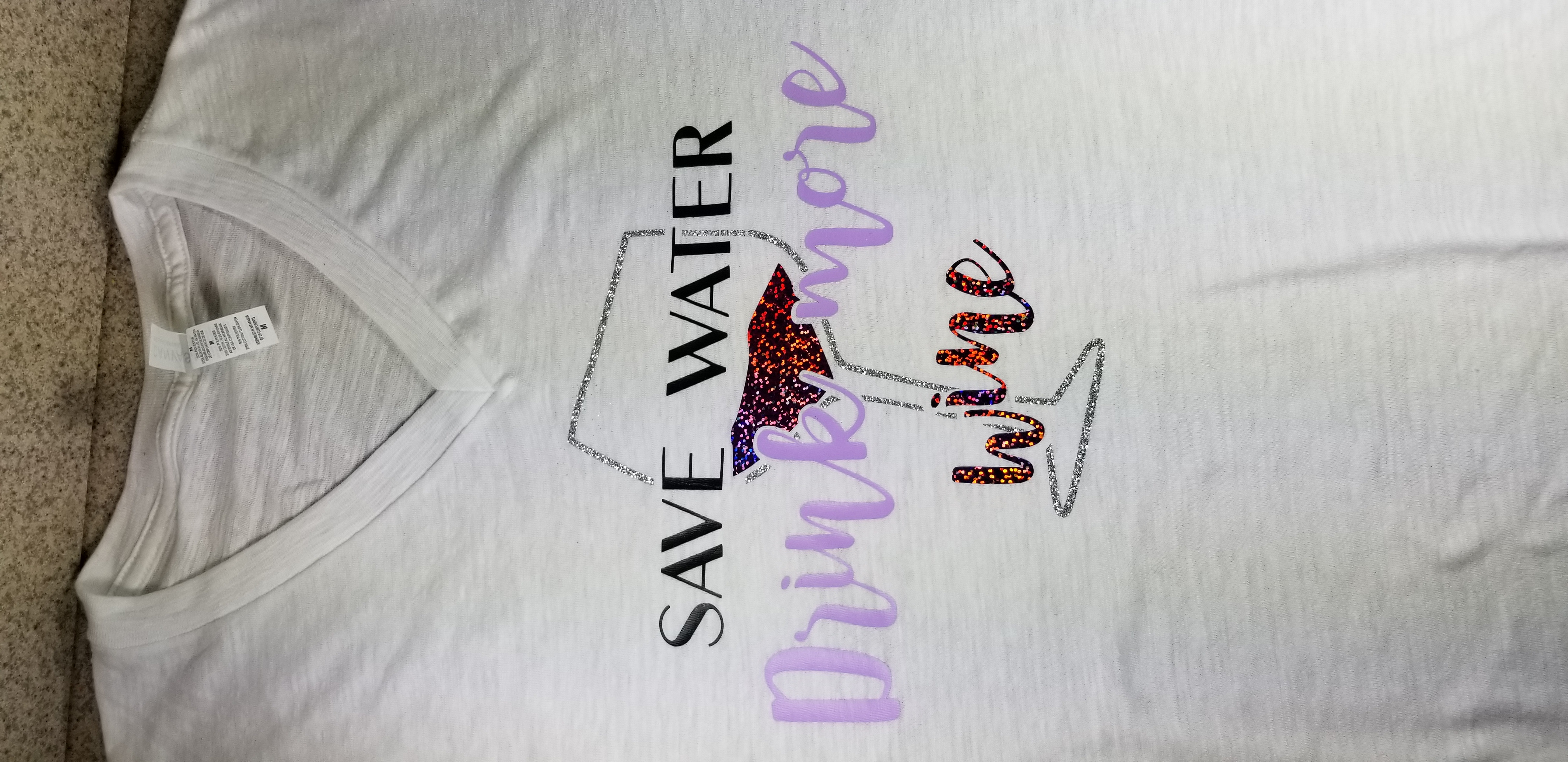 Save Water Drink More Wine