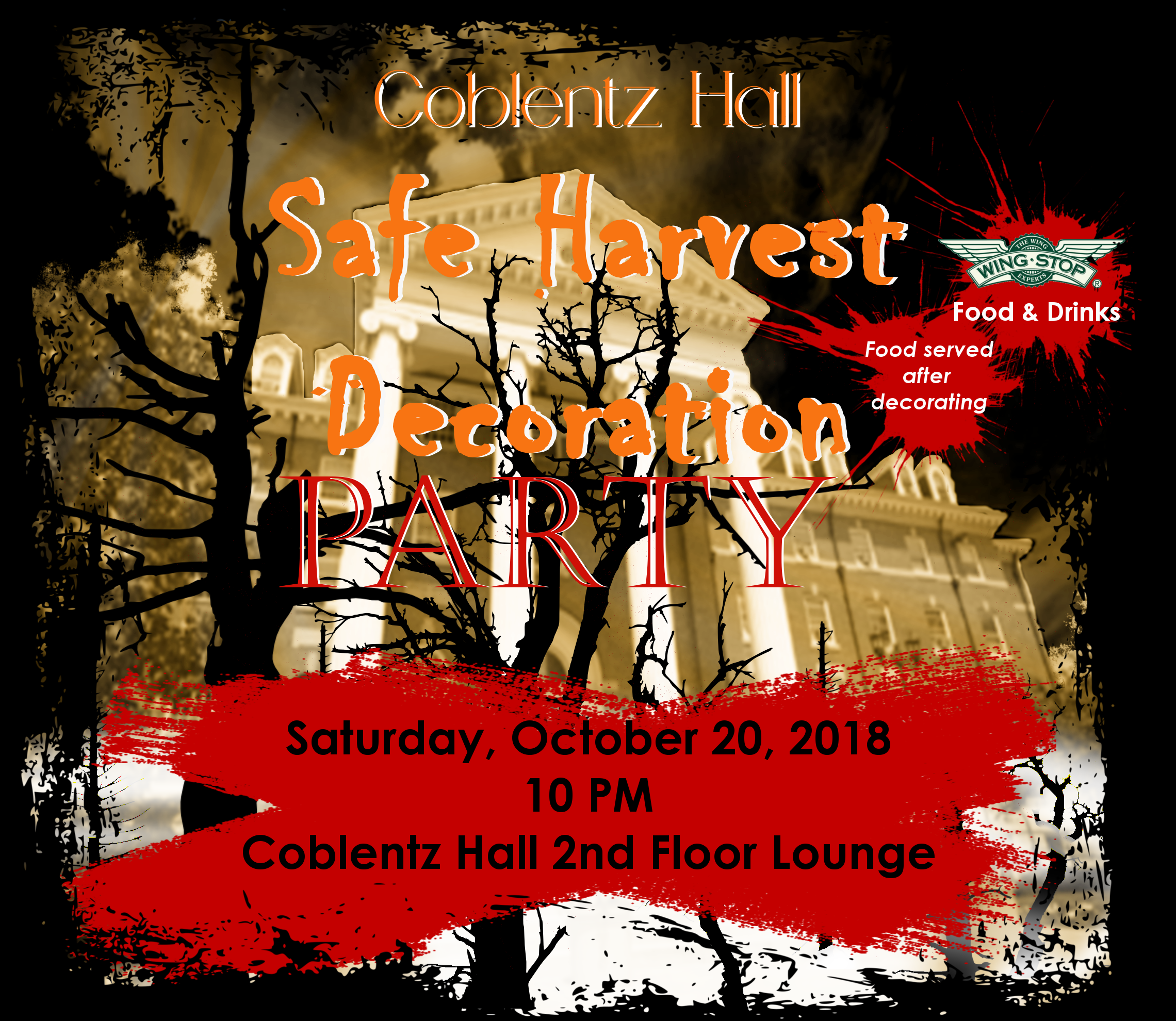 Coblentz Hall Safe Harvest Decoration Pa