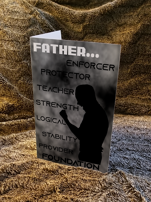Father I Love You Card
