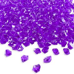 Purple Diamond Decorative Vase Filler