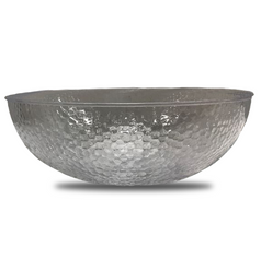 Large Clear Plastic Punch Bowl