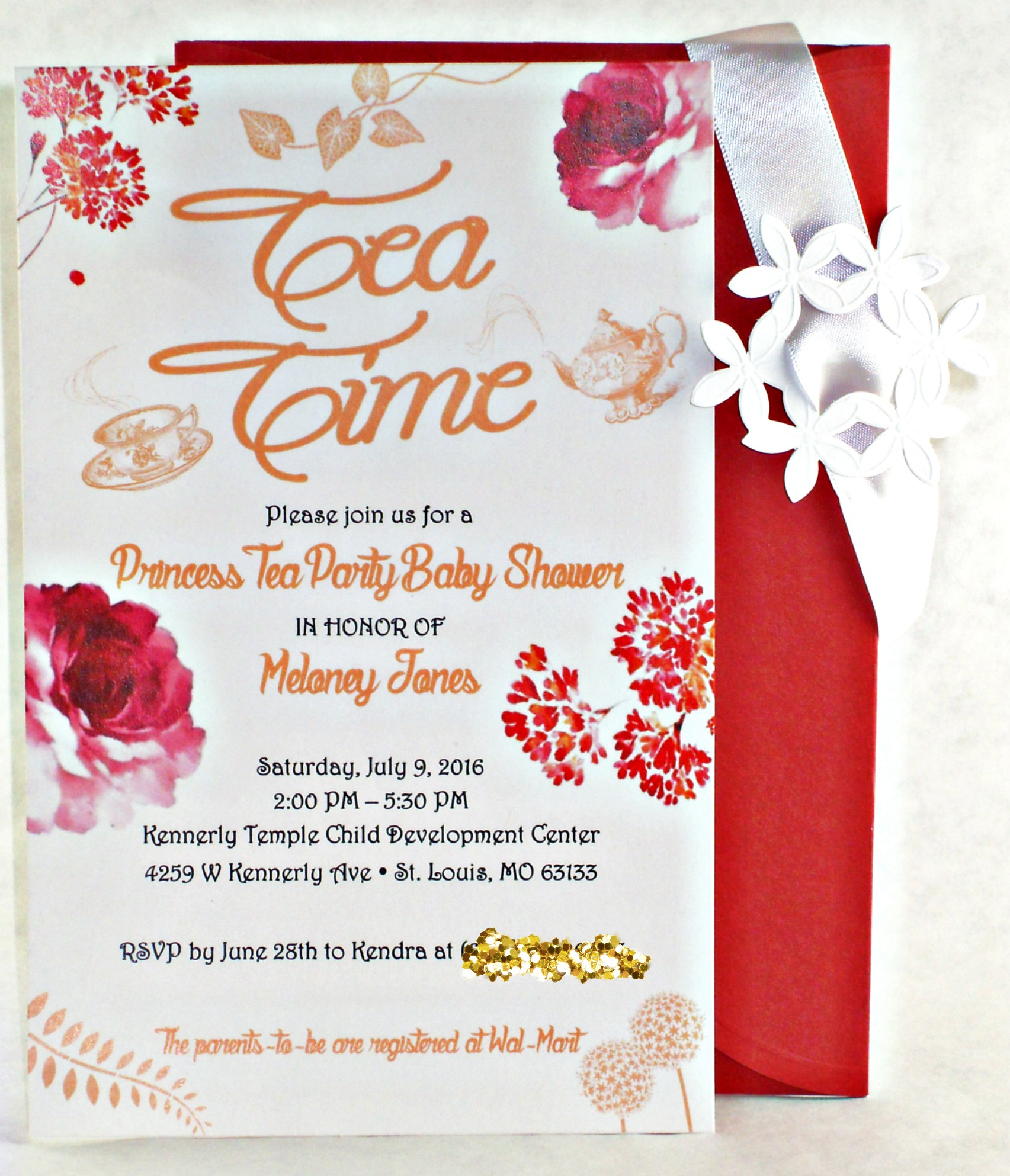 Baby Shower Invite | Tea Time