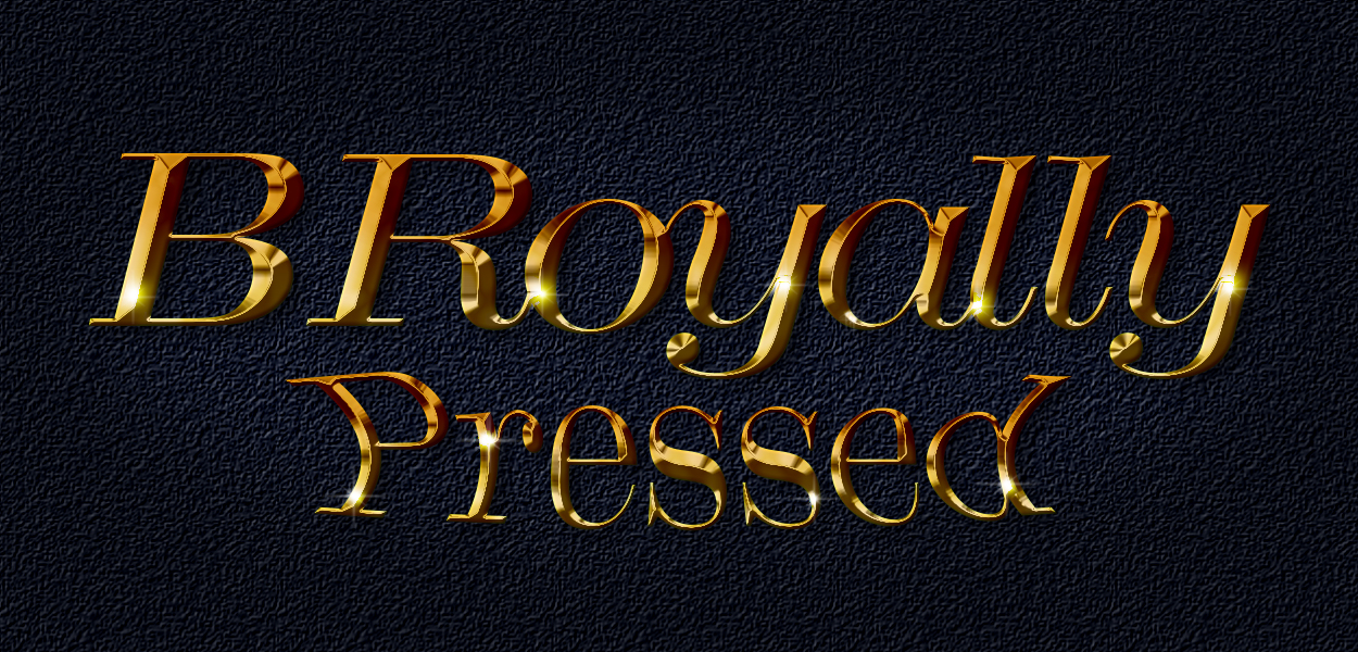 B Royally Pressed Full-Logo-Bkgd