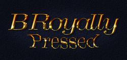 B Royally Pressed Full-Logo-Bkgd