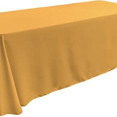 Gold, Rectangular Tablecover