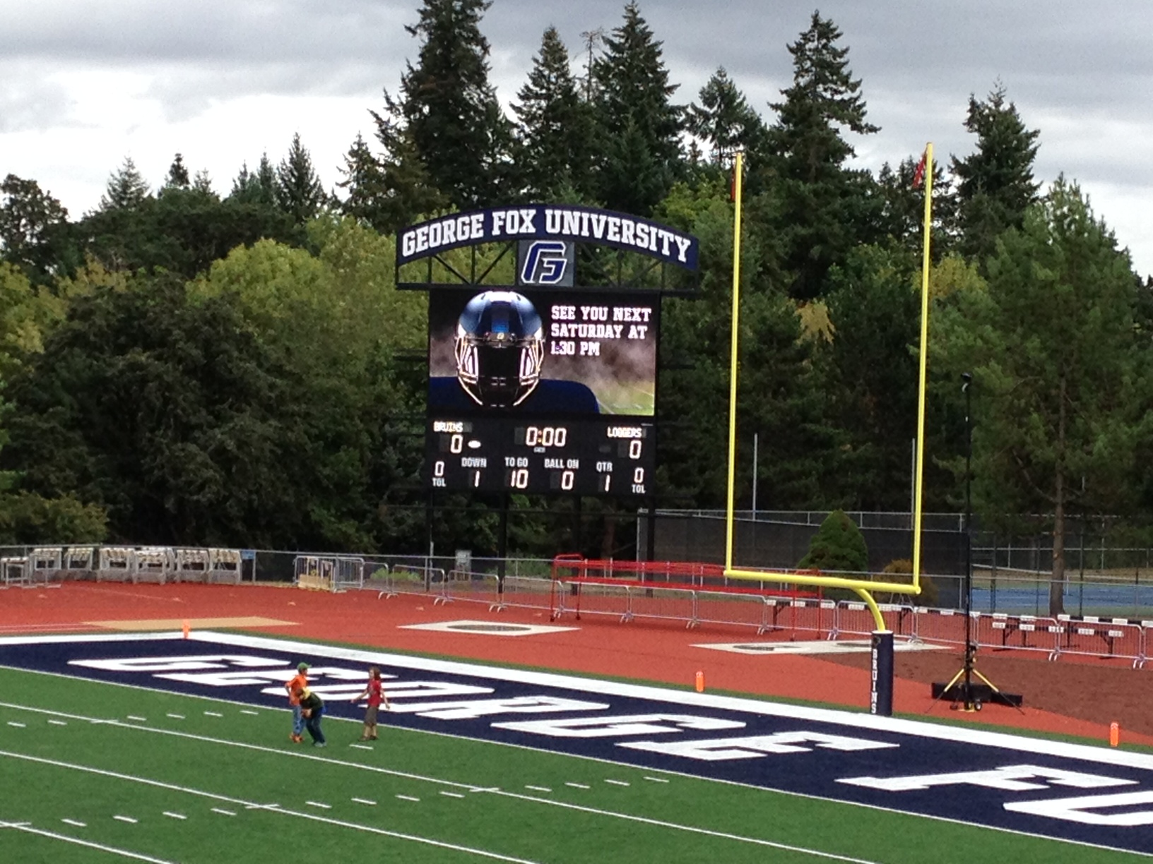 George Fox Sign