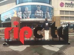 RIP CITY Sign