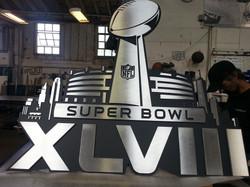 Seattle Seahawk Super Bowl Sign