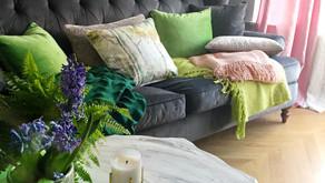 Spring Sofa Styling
