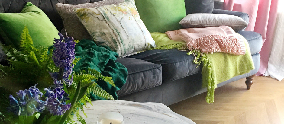 Spring Sofa Styling