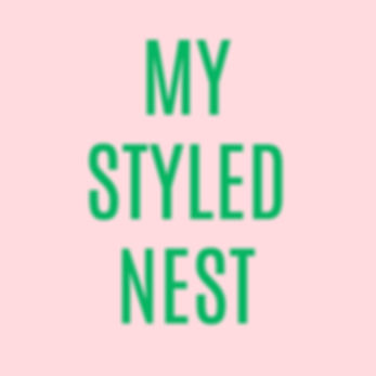 MY STYLED NEST home and living blog