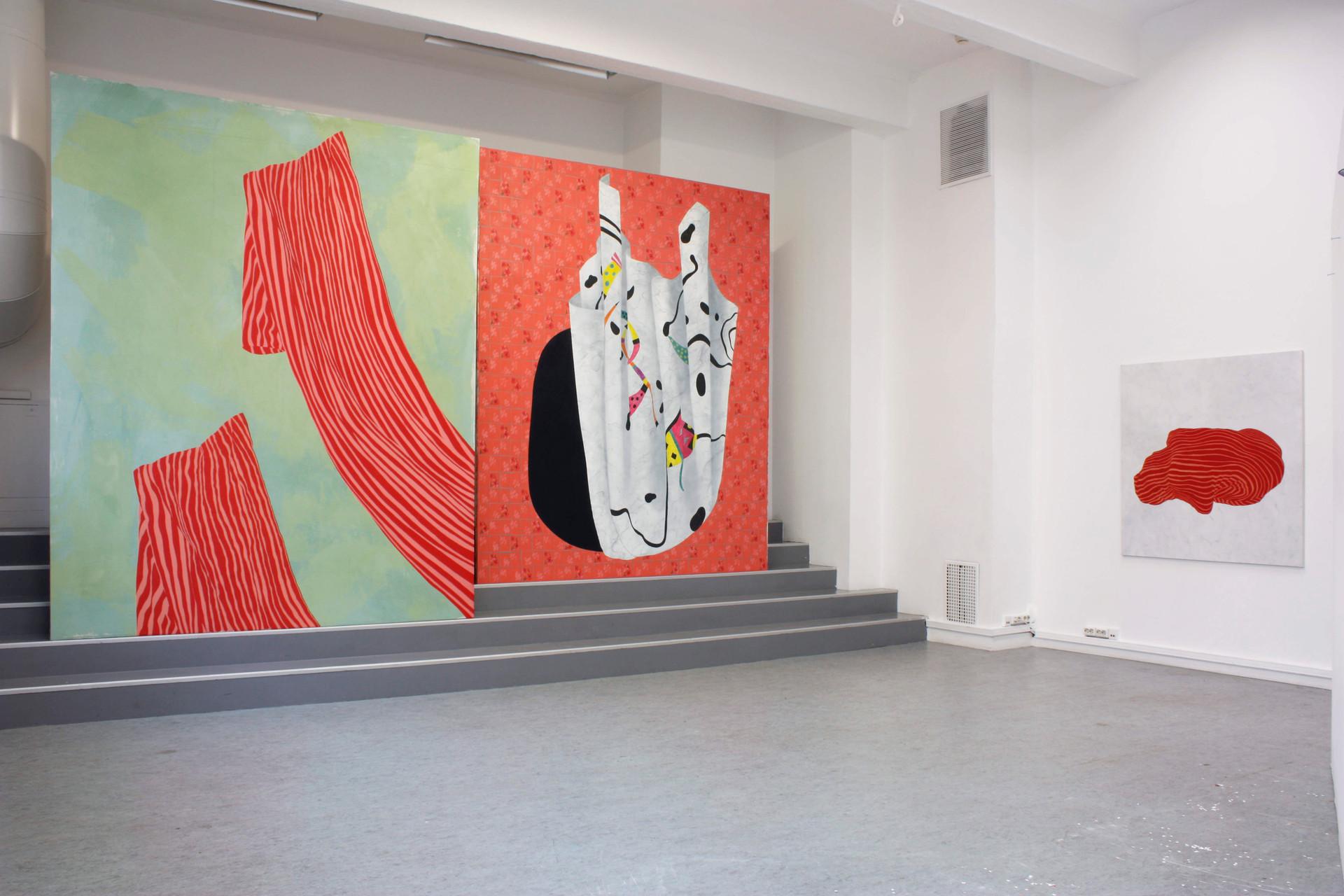 Utställningsbild från RÖR