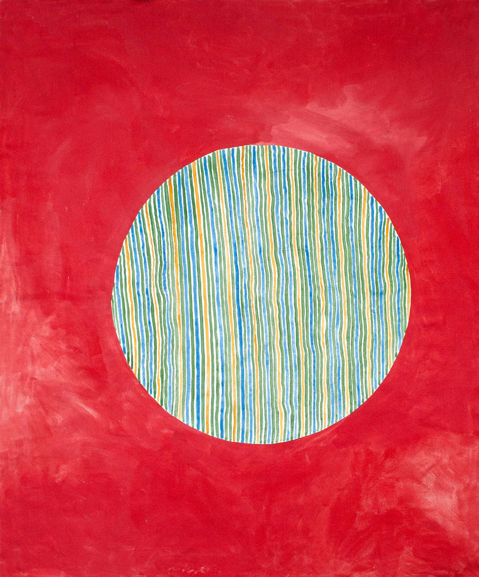 Pall, 170x120 cm, tempera och akryl på bomullsduk, 2018
