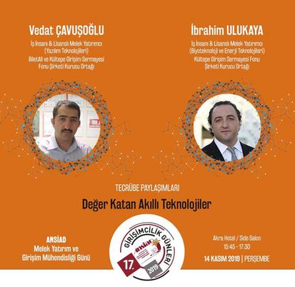 İbrahim Ulukaya - Vedat Çavuşoğlu