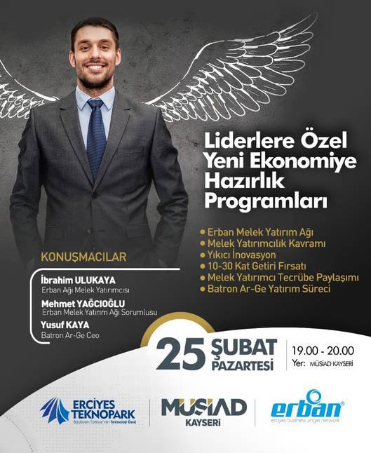 İbrahim Ulukaya - Seminer