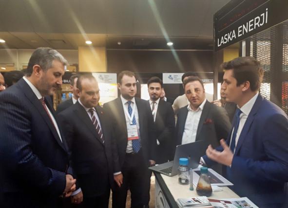 İbrahim Ulukaya - Müsiad Vizyoner 2019 - Laska Enerji Stand - Sanayi ve Ticaret Bakanı - Müsiad Başkanı