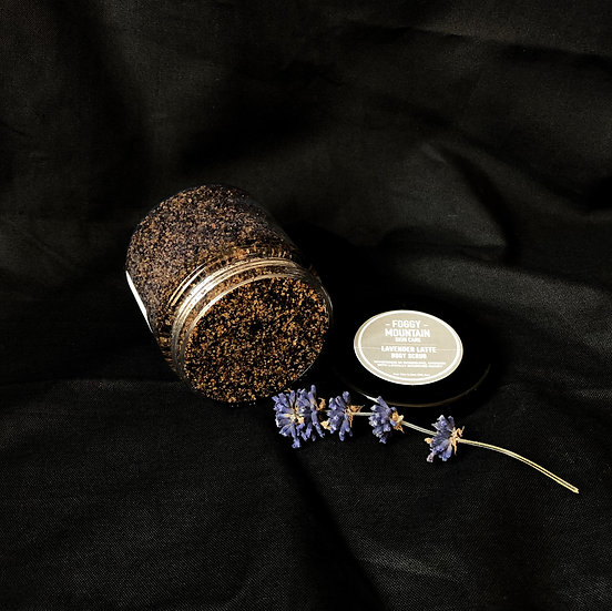 Lavender Latte Body Scrub