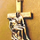 Thumbnail: Mother & Son Cross Pendent Gold