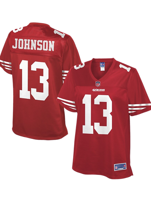 Stevie Johnson Signed 49ers Jersey