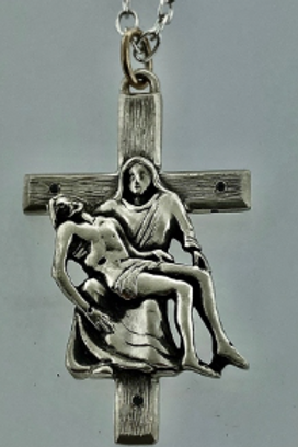 Mother & Son Cross Pendent