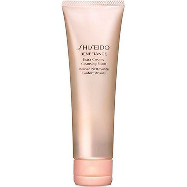 BENEFIANCE EXTRA CREAMY CLEANSING FOAM MOUSSE | SHISEIDO