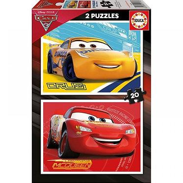 PUZZLE 2Χ20 CARS 3
