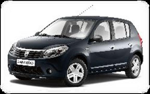 Renault Sandero, Per day