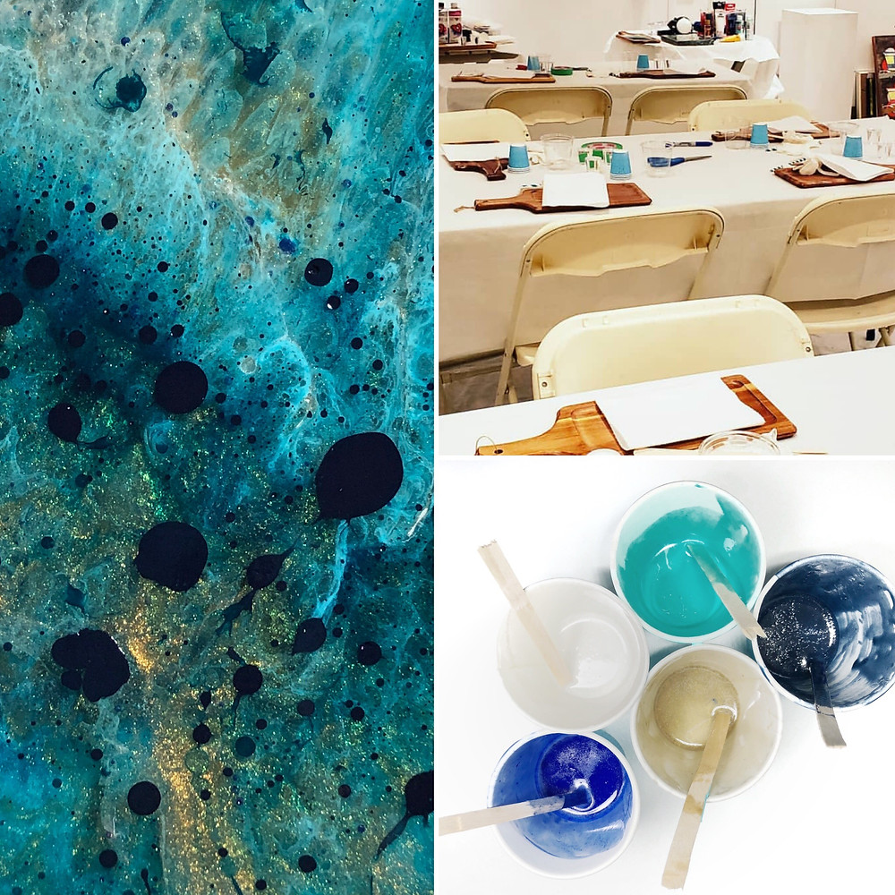 Join me at Argyle Fine Art Gallery for a resin workshop