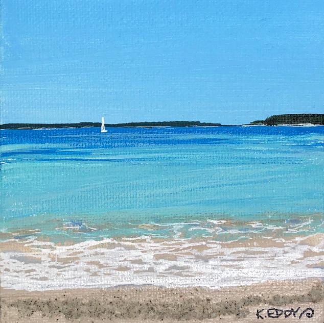 Carter's Beach Sailboat