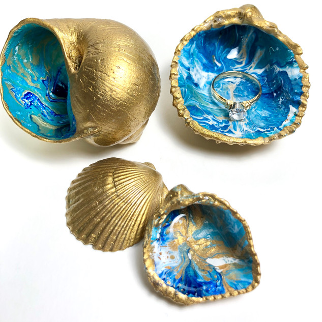 Gold Seashell Treasures