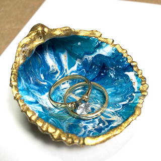 Gold Seashell Treasure Large