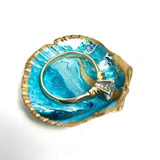 Gold Seashell Treasure Small