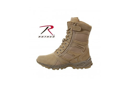 """Rothco Forced Entry 8"""" Deployment Boots With Side Zipper"""