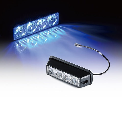 4W Surface Mount Grille Strobe Light Head