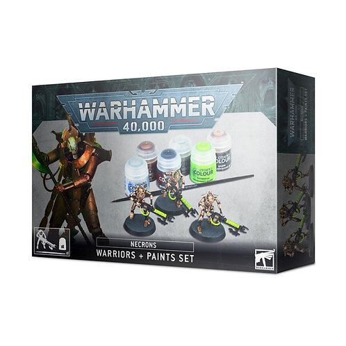 NECRONS PAINT SET+ ENG/SPA/PORT/LATV/ROM