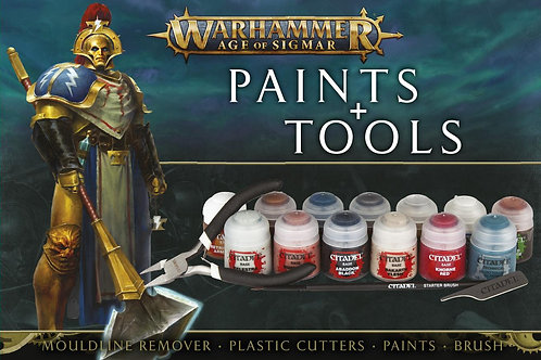 AGE OF SIGMAR PAINTS+TOOLS ENG/SPA/PORT/LATV/ROM