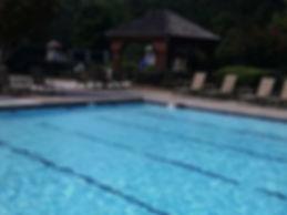 Pool Crack After Repair
