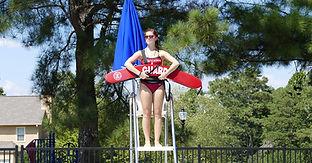 3 - We Make Your Pool Safer - Girl Stand
