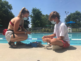 Company says they can keep people safe at community pools...
