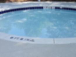 Baby pool renovation