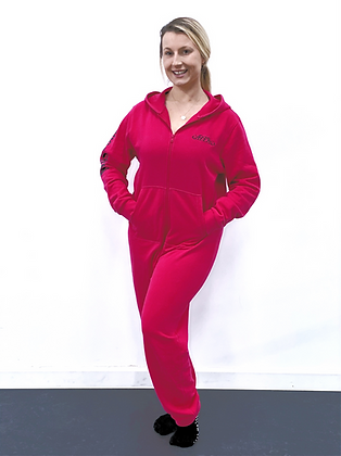 Adult Hot Pink ADA Onesie